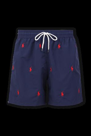Logo Swim Shorts in Navy POLO RALPH LAUREN