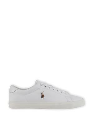 Logo Sneakers in White Leather POLO RALPH LAUREN