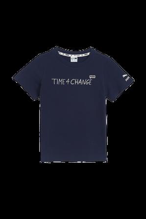 גילאי 2-14 חולצת Time 4 Change בנייבי PUMA KIDS