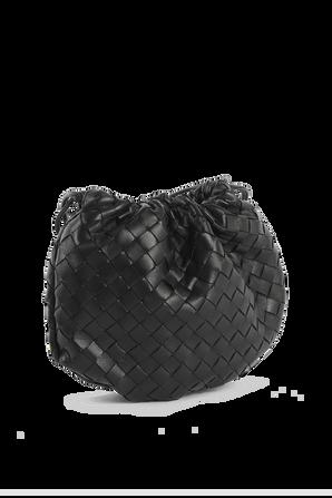 Mini Bulb in Black Leather BOTTEGA VENETA
