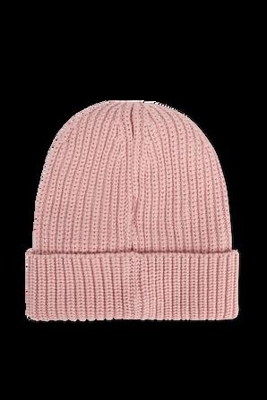 כובע גרב כותנה אורגנית בגוון ורוד CALVIN KLEIN
