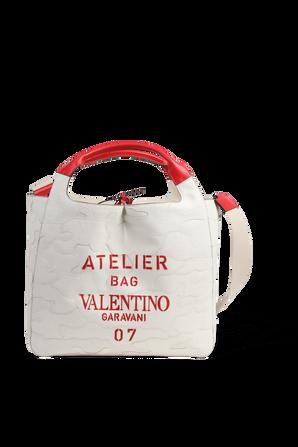 תיק נשיאה בצבע טבעי VALENTINO