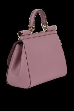 Medium Sicily Bag in Pink DOLCE & GABBANA