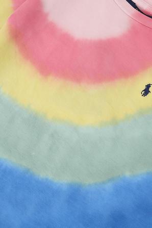 גילאי 5-6 חולצת טי בעיצוב טאי דאי צבעוני POLO RALPH LAUREN KIDS