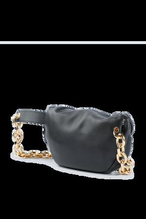 The Pouch Belt Bag in Black BOTTEGA VENETA