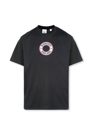 Archway Logo T-Shirt in Black BURBERRY