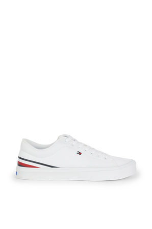 Lightweight Stripes Sneakers in White TOMMY HILFIGER