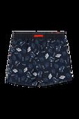 גילאי 10-16 מכנסי בגד ים כוחלים עם סמלים ממותגים image number null FILA