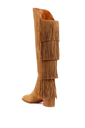 Boots Lionne in Brown CHRISTIAN LOUBOUTIN