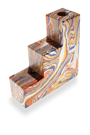 Swirl Stepped Bookends Set of 2 TOM DIXON