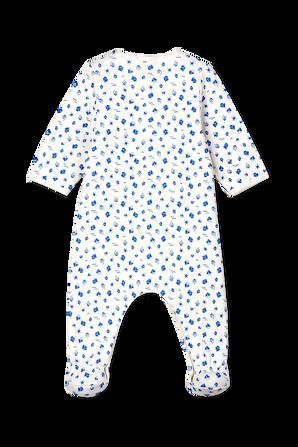 גילאי NB-12 חודשים אוברול שינה ארוך בהדפס סירות PETIT BATEAU