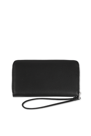 Wallet With Logo in Black ARMANI EXCHANGE