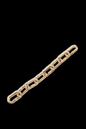 צמיד חוליות בצבע זהב BOTTEGA VENETA