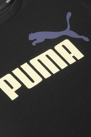 גילאי 2-14 חולצת טי בשחור עם לוגו PUMA KIDS