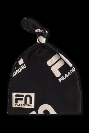 Fila x Nununu NB Baby Hat in Black FILA NUNUNU