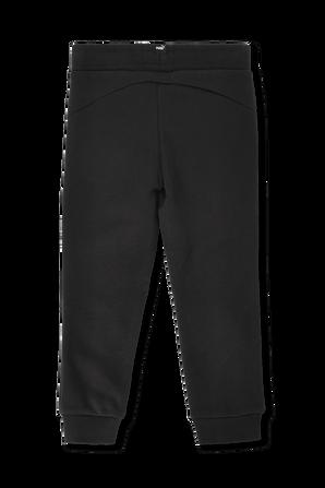 גילאי 2-14 מכנסי גוגר עם לוגו בשחור PUMA KIDS