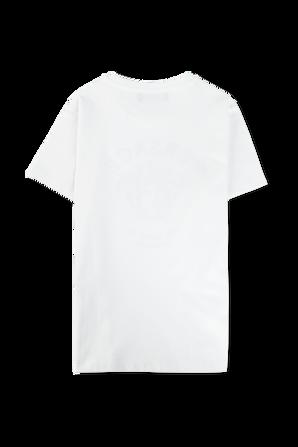 גילאי 8-14 חולצת טי עם לוגו מדוזה בשחור VERSACE KIDS