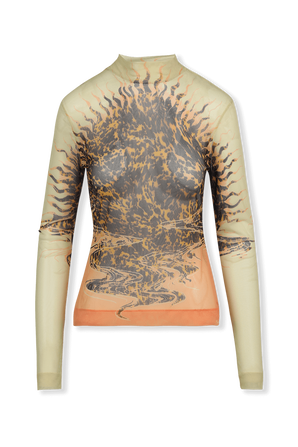 Second Skin Effect Printed Top GIVENCHY