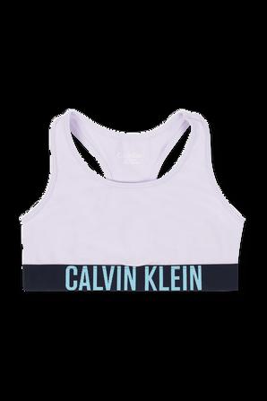 גילאי 8-16 מארז של שני טופים בגווני סגול ולבן CALVIN KLEIN