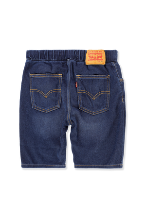 גילאי 8-16 מכנסי גינס קצרים בשטיפה כהה LEVI`S KIDS