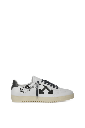 White Low Vulcanized Sneakers OFF WHITE