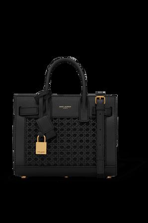 Classic Sac De Jour Nano  Hand Bag in Black SAINT LAURENT
