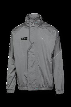 Mercedes F1 Street Jacket in Grey Silver PUMA