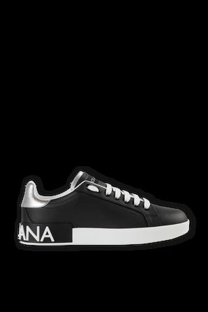 Low-Top Sneakers In Black DOLCE & GABBANA