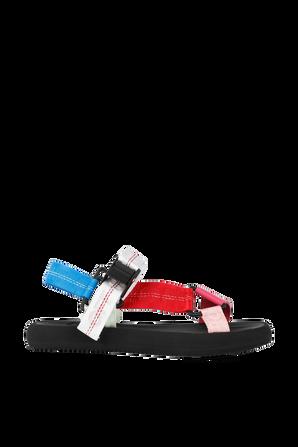 Trek Sandal in Multicolor OFF WHITE