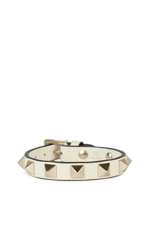 Rockstud Bracelet in Ivory VALENTINO