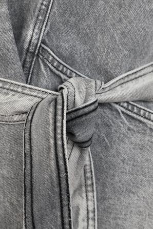 ז'קט ג'ינס חלוק בגוון אפור משופשף IRO