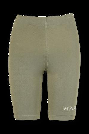 מכנסי טייץ קצרים בצבע ירוק MARC JACOBS