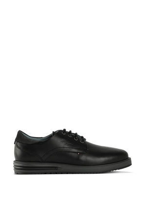 LEATHER HYBRID AIR SHOES IN BLACK TOMMY HILFIGER