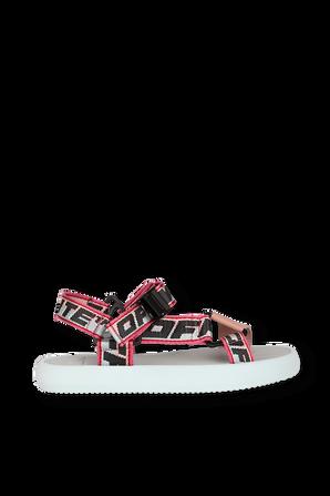 Trek Sandal in Pink ans Kight Blue OFF WHITE