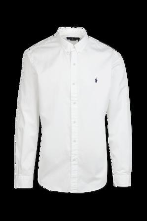 Chino Cotton Shirt In White POLO RALPH LAUREN
