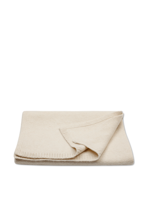 Cashmere Luxe Scarf in Ivory JOSEPH