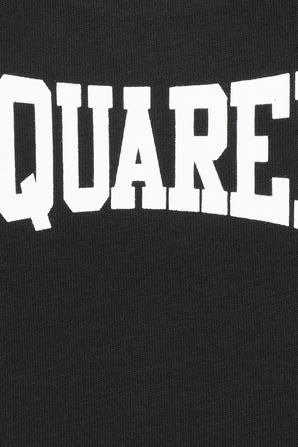 גילאי 3-36 חודשים חולצת לוגו בשחור DSQUARED KIDS