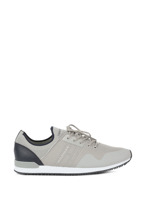 Knit Trainers in Grey TOMMY HILFIGER