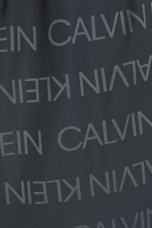 Medium Drawstring Swimshort in Black CALVIN KLEIN