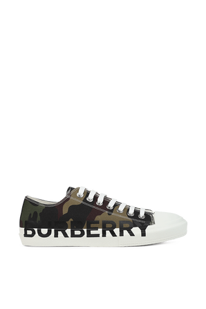 Camouflage Sneakers BURBERRY