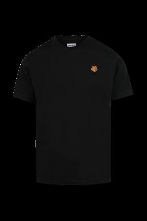 Tiger Crest Classic Tshirt in Black KENZO