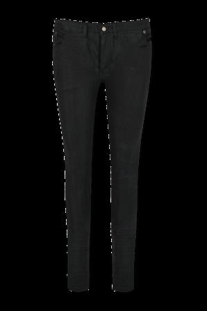 Skinny 5 Pockets Medium Waist In Black SAINT LAURENT