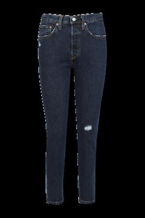 501 Skinny Jeans in Dark Wash LEVI`S