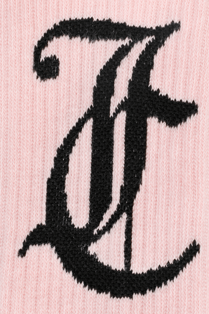 Ribbed Ankle Socks in Pink JUICY COUTURE