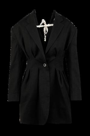 La Veste Camargue in Black JACQUEMUS