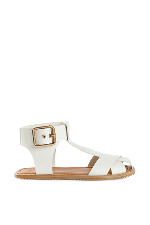 Lydia sandals in White Leather MONCLER