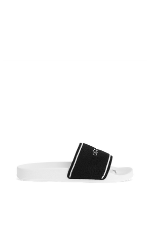 Towel Slider in White and Black OFF WHITE