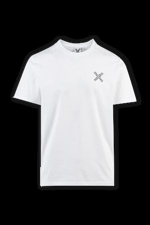X Logo Tee in White KENZO