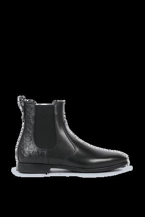 Boost in Black Leather SALVATORE FERRAGAMO