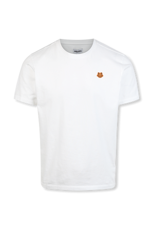 Tiger Crest Classic Tshirt in White KENZO